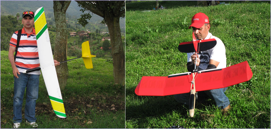 JCV13 glider and Cabeza Roble gliderr